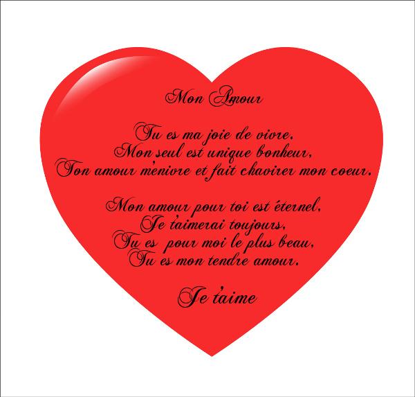 Poeme amour poeme amour - Un coeur amoureux ...