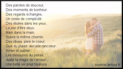 Poeme Amour Poeme Mariage