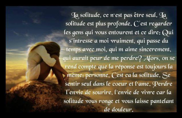 Poeme Amour Poeme Solitude