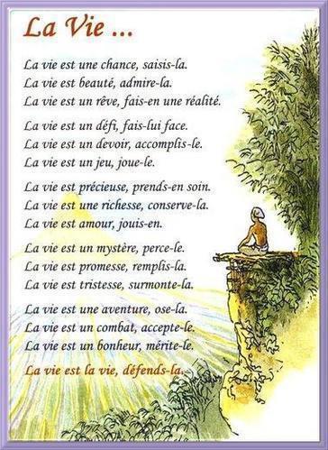Poeme Amour Poeme Vie